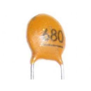 680pF/50V SUNTAN,RM=2,54, keramický kondenzátor