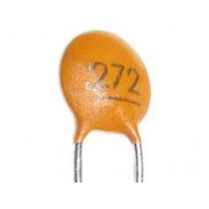2n7/50V SUNTAN,RM=2,54, keramický kondenzátor