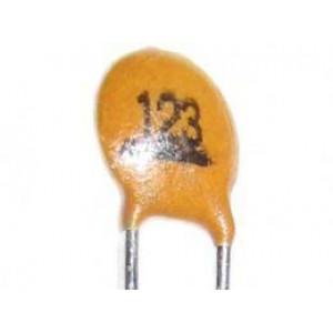 12n/50V SUNTAN, RM=2,54 keramický kondenzátor
