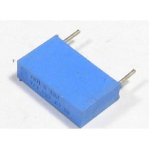 68n/400V MKT PHILIPS, svitkový kondenzátor radiální, RM=16mm