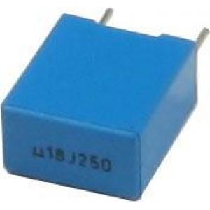 180n/250V TC354, svitkový kondenzátor radiální, RM=7,5mm