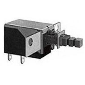 Přepínač stiskací PS-11E01, ON-OFF 1pol.250V/0,5A