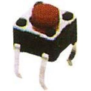 Mikrospínač KFC-045A-3,8, 4,5x4,5mm v=3,8mm