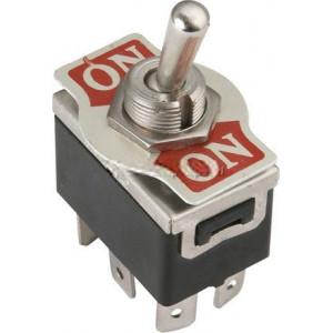 Přepínač páčkový KN3(C)-202AP, ON-ON 2pol.250V/10A