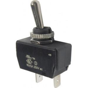 Přepínač páčkový OFF-ON 1pol.277VAC/16A, R13-447