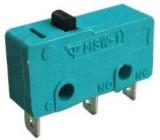 Mikrospínač MSW-11, ON-(ON) 1pol.125V/5A