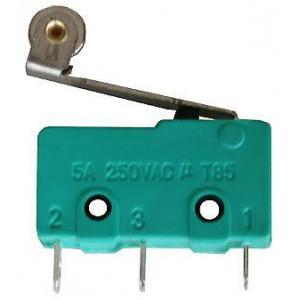 Mikrospínač MSW-13, ON-(ON) 1pol.250V/5A s páčkou 17mm