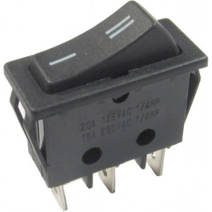 Přepínač kolébkový RS-102-11C, ON-ON 1pol.250V/16A