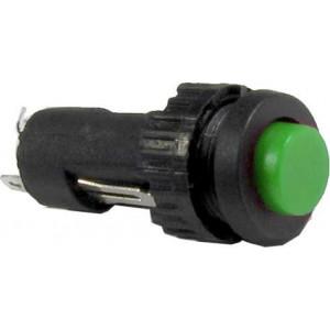 Tlačítko OFF-ON 1pólové 50V/1A zelené