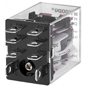 Relé HTL-2C 230V 2x kontakt 230VAC/10A