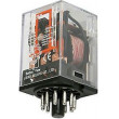 Relé MK-3P 230V 3x kontakt 230VAC/7A 35x35x50mm