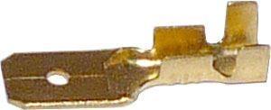 Faston-konektor 6,3mm neizolovaný, kabel 1,5-2,5mm2