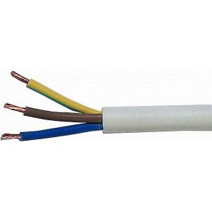 Kabel 3x1,5mm2 H05VV-F (CYSY3x1,5mm)