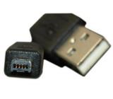 Kabel USB 2.0 konektor USB A / USB Mini-B (4 piny) 1,8m