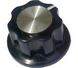 Přístrojový knoflík MF-A01 19,5x12mm, hřídel 6mm