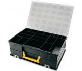 Krabička 360x252x128mm 2x18sekcí, ArtPlast 4400
