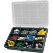 Krabička na součástky 180x128x32mm 12 sekcí, ArtPlast 3200