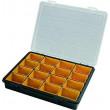 Krabička na součástky - 16 vyjímatelných sekcí, ArtPlast 3300V