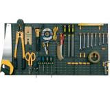 Nástěnný držák na nářadí - panel plastový 1000x500mm, ArtPlast 330