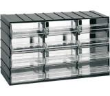 Závěsná skříňka stohovací 382x230x148mm - 12 krabiček, ArtPlast 613