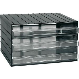 Závěsná skříňka stohovací 382x290x230mm - 3 krabičky, ArtPlast 703