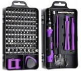 Sada šroubováků a nástrojů pro opravu mobilů a hodinek