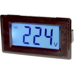 JYX85-panelový LCD MP 600V~ 70x40x25mm, napájení 6-12V=