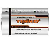 Baterie TINKO 1,5V D(R20), Zn-Cl