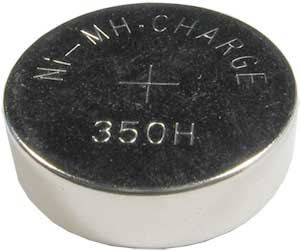 Nabíjecí článek NiMH knoflík.1,2V/350mAh TINKO H350BC (H320BC)
