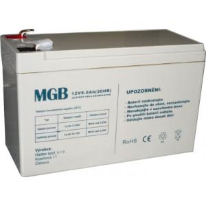 Pb akumulátor MGB VRLA AGM 12V/9Ah