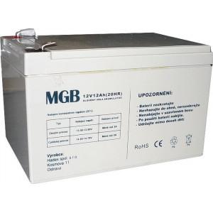 Pb akumulátor MGB VRLA AGM 12V/12Ah
