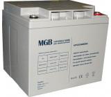 Pb akumulátor MGB VRLA AGM 12V/40Ah polotrakční