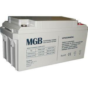 Pb akumulátor MGB VRLA AGM 12V/65Ah polotrakční