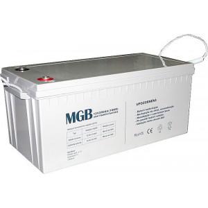 Pb akumulátor MGB VRLA AGM 12V/200Ah polotrakční