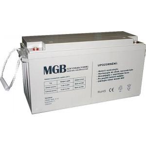 Pb akumulátor MGB VRLA AGM 12V/150Ah trakční