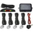 Parkovací alarm KQLD01 se 4 senzory, LED displej, bílé senzory