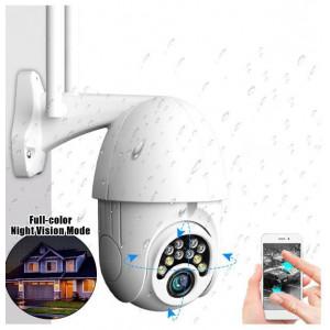 IP kamera V380PRO, WiFi CMOS 1080P venkovní, 5x zoom, rotující