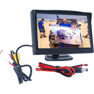 LCD color monitor TFT 5""