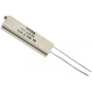680R WK66951, rezistor 10W drátový keramický
