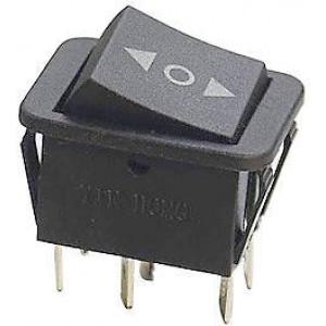 Přepínač kolébkový KCD2-203-3, ON-OFF-ON 2p.250V/15A ( O )