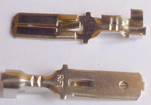 faston konektor 6 3mm rft kabel 2 5mm2 balen 100ks. Black Bedroom Furniture Sets. Home Design Ideas