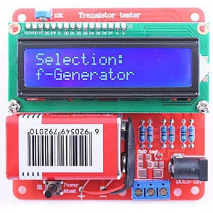 R-L-C metr+ tester polovodičů+PWM generátor SKU350446 - STAVEBNICE