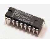 TDA7000 - FM přijímač, DIL16
