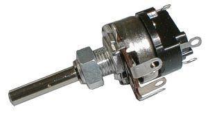 1k0/N TP161 32A, potenciometr otočný s vypínačem