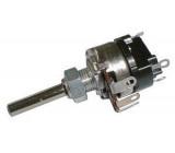 100R/N TP161 32A, potenciometr otočný s vypínačem