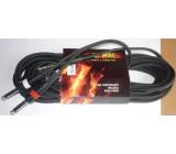 Kabel Jack 6,3 - Jack 6,3 mono, 10m, OFC kabel 6mm