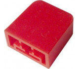 Hmatník pro isostat červený 15x15x8mm