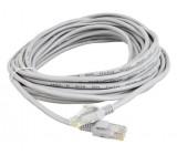 UTP kabel Patch RJ45 10m šedý cat5