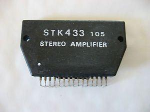 STK433-nf zesilovač 2x5W (Ucc=32Vmax)