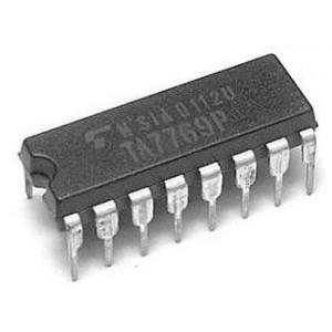 TA7769P - nf zesilovač 2x1W, DIP16